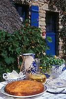 Europe/France/Pays de la Loire/44/Loire-Atlantique/Saint-André-des-Eaux: Gâteau breton - Recette de Robert Rouaud (pâtissier)