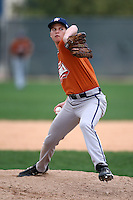 January 17, 2010:  Taylor Payne (Carrllton, TX) of the Baseball Factory Texas Team during the 2010 Under Armour Pre-Season All-America Tournament at Kino Sports Complex in Tucson, AZ.  Photo By Mike Janes/Four Seam Images
