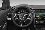 Car pictures of steering wheel view of a 2021 Jaguar E-Pace R-Dynamic-HSE 5 Door SUV Steering Wheel