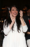 """Rachel Chavkin during the Actors' Equity Legacy Robe Ceremony honoring T. Oliver Reid for  """"Hadestown"""" at the Walter Kerr Theatre on April 17, 2019  in New York City."""