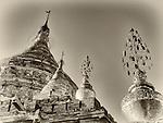 Mya Zedi Pagoda, Bagan, Burma