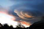Clouds over Motueka. Copyright image Chris Symes/www.shuttersport.co.nz Contact info@shuttersport.co.nz for use of image