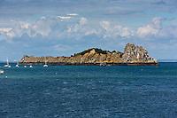 France, Ille-et-Vilaine (35), côte d'émeraude, Cancale,   Île des Rimains // France, Ille et Vilaine, cote d'emeraude (Emerald Coast), Cancale, Rimain Island