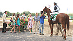 """July 06, 2014: Main Sequence with Rajiv Maragh win the 63rd running of the Grade I United Nations Stakes - a """"Win & You're IN"""" for 3-year olds & up, going 1 3/8 mile on the turf at Monmouth Park. Trainer: H. Graham Motion . Owner:Flaxman Holdings Ltd. . Sue Kawczynski/ESW/CSM"""