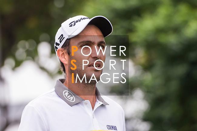Edoardo Molinari of Italy reacts during the day four of UBS Hong Kong Open 2017 at the Hong Kong Golf Club on 26 November 2017, in Hong Kong, Hong Kong. Photo by Marcio Rodrigo Machado / Power Sport Images