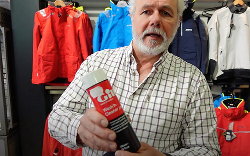 Ian O'Meara of Viking Marine with some tips for keeping sailing gear clear of salt water damage