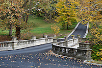 The White Bridge, Vanderbilt Mansion National Historic Site, Hyde Park, New York, USA