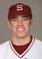 STANFORD, CA - JANUARY 7:  Cory Bannister of the Stanford Cardinal baseball team poses for a headshot on January 7, 2009 in Stanford, California.
