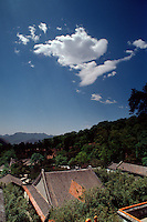 China, Peking, Landschaft bei  Tan Zhe Si-Tempel