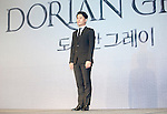 """Choi Jae-Woong, Jul 11, 2016 : South Korean musical actor Choi Jae-Woong poses during a news conference promoting a new musical """"Dorian Gray"""" in Seoul, South Korea. The musical is based on Oscar Wilde's novel """"The Picture of Dorian Gray"""". (Photo by Lee Jae- Won/AFLO) (SOUTH KOREA)"""