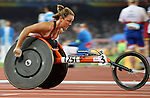 Diane Roy of Hatley , Qc, qualified in the 400 m t-54<br /> - Photo Benoit Pelosse-CPC