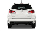 Straight rear view of a 2013 Buick Enclave