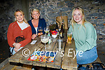 Enjoying the evening in Benners Hotel on Saturday, l to r: Kim, Mary and Rebbeca Harris