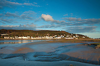 Kippford and the Rough Firth, from Glen Isle, Dumfries and Galloway