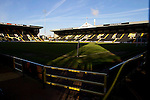 Notts County 150th Anniversary, 18/11/2012. Meadow Lane. Meadow Lane, home of Notts County FC on the day of a special Legends Day event marking the club's 150th anniversary. The day-long event featured autograph signing by past and present players, a game between two teams of former players and a screening of a film entitled 'Notts County - the Movie' on a giant inflatable screen. The club were founder members of the Football League in England and call themselves 'the world's oldest Football League club'. Photo by Colin McPherson.
