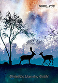 Simon, REALISTIC ANIMALS, REALISTISCHE TIERE, ANIMALES REALISTICOS, innovative, paintings+++++A_PhillT_Deer,GBWR238,#a#, EVERYDAY