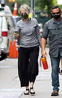 NEW YORK, NY- JULY 13: Cynthia Nixon arriving to the set of the HBOMax Sex and the City reboot series And Just Like That in New York City on July 13, 2021. <br /> CAP/MPI/RW<br /> ©RW/MPI/Capital Pictures