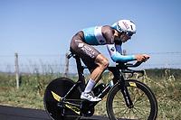 Oliver Naesen (BEL/AG2R La Mondiale)<br /> <br /> Stage 13: ITT - Pau to Pau (27.2km)<br /> 106th Tour de France 2019 (2.UWT)<br /> <br /> ©kramon
