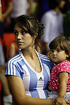 Argentina´s supporter during FIBA Basketball World Cup Spain 2014 match between Argentina and Greece at Sevilla stadium in Sevilla, Spain. September 04, 2014. (ALTERPHOTOS/Victor Blanco)