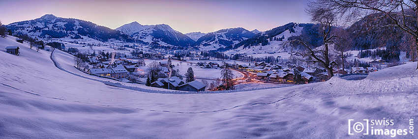 Gstaad alpine area