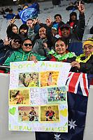 22nd May 2021; Eden Park, Auckland New Zealand; All Blacks Sevens versus Australia, Trans-Tasman Sevens;  Sevens fans.