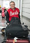 John Rea, Sochi 2014.<br /> Team Canada arrives at the airport in Sochi for the Sochi 2014 Paralympic Winter // Équipe Canada arrive à l'aéroport de Sotchi pour Sochi 2014 Jeux paralympiques d'hiver. 03/03/2014.