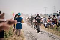 on pavé sector #6<br /> <br /> Stage 9: Arras Citadelle > Roubaix (154km)<br /> <br /> 105th Tour de France 2018<br /> ©kramon