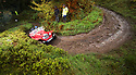 06/10/18<br /> <br /> Tony Branson & Eric Gordon, Marlin Roadster.<br /> <br /> After battling hours of heavy rain, competitors slither up a hill known as the corkscrew in near Kettleshulme in the Cheshire Peak District National Park. Hundreds of other cars and motorcycles took part in today's Edinburgh Trial. The Motorcyling Club's 94th annual long distance navigation trial started near Tamworth at midnight and finishes this afternoon near Buxton. The original trial ran from London to Edinburgh.<br /> <br /> All Rights Reserved: F Stop Press Ltd. +44(0)1335 344240  www.fstoppress.com www.rkpphotography.co.uk
