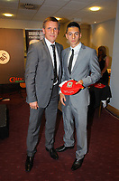 Pictured: Tony Pennock. Thursday 10 May 2012<br /> Re: Swansea City FC awards dinner at the Liberty Stadium.