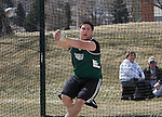SPEARFISH, SD -- April 04, 2008: Eric Flores of Black Hills State gets ready to release the hammer  during the Black Hills State University Frostbite Invitational college track and field meet Friday, April 4, 2008 at Lyle Hare Stadium in Spearfish. (Photo by Jeff Easton/Inertia)