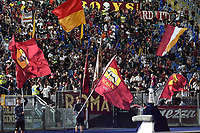 23rd September 2021;  Stadio Olimpicom, Roma, Italy; Serie A League Football, Roma versus Udinese; Roma's supporters