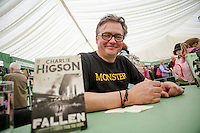 Tuesday 27 May 2014, Hay on Wye, UK<br /> Pictured: Charlie Higson <br /> Re: The Hay Festival, Hay on Wye, Powys, Wales UK.
