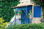 Near Polis, House, Door, Window, Cyprus, Zypern