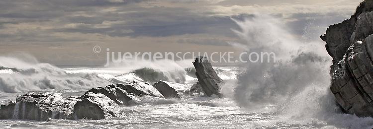 rugged annie, west coast, south island new zealand