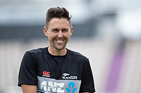 Trent Boult, New Zealand, during a training session ahead of the ICC World Test Championship Final at the Hampshire Bowl on 17th June 2021