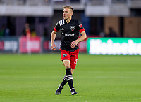 WASHINGTON, DC - MAY 13: Julian Gressel #31 of D.C. United reacts to a missed shot during a game between Chicago Fire FC and D.C. United at Audi FIeld on May 13, 2021 in Washington, DC.
