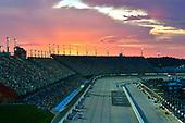 #11: Denny Hamlin, Joe Gibbs Racing, Toyota Camry FedEx Throwback Toyota Camry and #43: Darrell Wallace Jr., Richard Petty Motorsports, Chevrolet Camaro STP