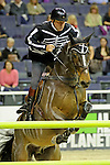 Nick Skelton Participates in the $20,000 Gamblers Choice Costume Jump at The 53rd annual Washington International Horse Show at the Verizon Center in  Washington D.C. on 10/27/11 (Ryan Lasek / Eclipse Sportwire)