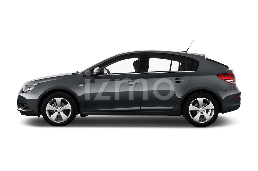 Driver side profile view of a 2013 Chevrolet CRUZE LTZ 5 Door Hatchback 2WD