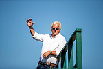 AUGUST 27, 2021: Bob Baffert at Del Mar Fairgrounds in Del Mar, California on August 27, 2021. Evers/Eclipse Sportswire/CSM