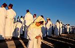 Samaria, Samaritan pilgrimage To Mount Gerizim done on Passover, Shavuot and Succot holidays<br />