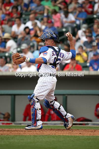 Kyle Schwarber - Chicago Cubs 2016 spring training (Bill Mitchell)