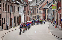 rolling through town<br /> <br /> 61st Brabantse Pijl 2021 (1.Pro)<br /> 1 day race from Leuven to Overijse (BEL/202km)<br /> <br /> ©kramon