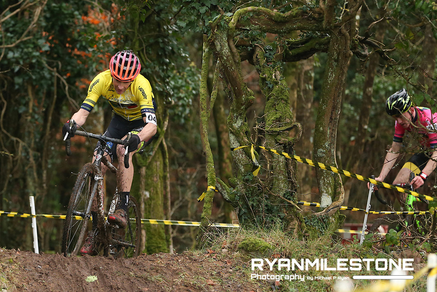 EVENT:<br /> Round 5 of the 2019 Munster CX League<br /> Drombane Cross<br /> Sunday 1st December 2019,<br /> Drombane, Co Tipperary<br /> <br /> CAPTION:<br /> Trevor Woods of STRATA3/Velo Revolution Racing Team in action during the A Race - M50<br /> <br /> Photo By: Michael P Ryan