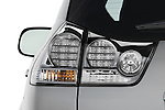Tail light close up detail view of a 2008 Lexus RX Hybrid