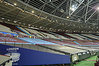 General view of the London Stadium During Covid 19 during West Ham United vs Newcastle United, Premier League Football at The London Stadium on 12th September 2020