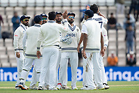 India celebrate the wicket of Kane Williamson during India vs New Zealand, ICC World Test Championship Final Cricket at The Hampshire Bowl on 22nd June 2021