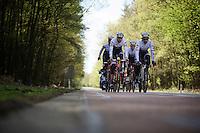 first pre-Giro training ride with Team Trek-Segafredo in Gelderland (The Netherlands)<br /> <br /> 99th Giro d'Italia 2016