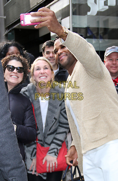 NEW YORK, NY - MARCH 24: Anthony Anderson seen after an appearance on Good Morning America on March 24, 2017 in New York City.  <br /> CAP/MPI/RW<br /> ©RW/MPI/Capital Pictures
