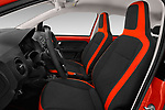 Front seat view of a 2018 Volkswagen Up Cross Up 5 Door Hatchback front seat car photos